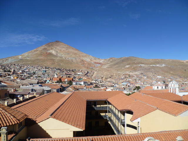 Potosi City And Cerro Rico